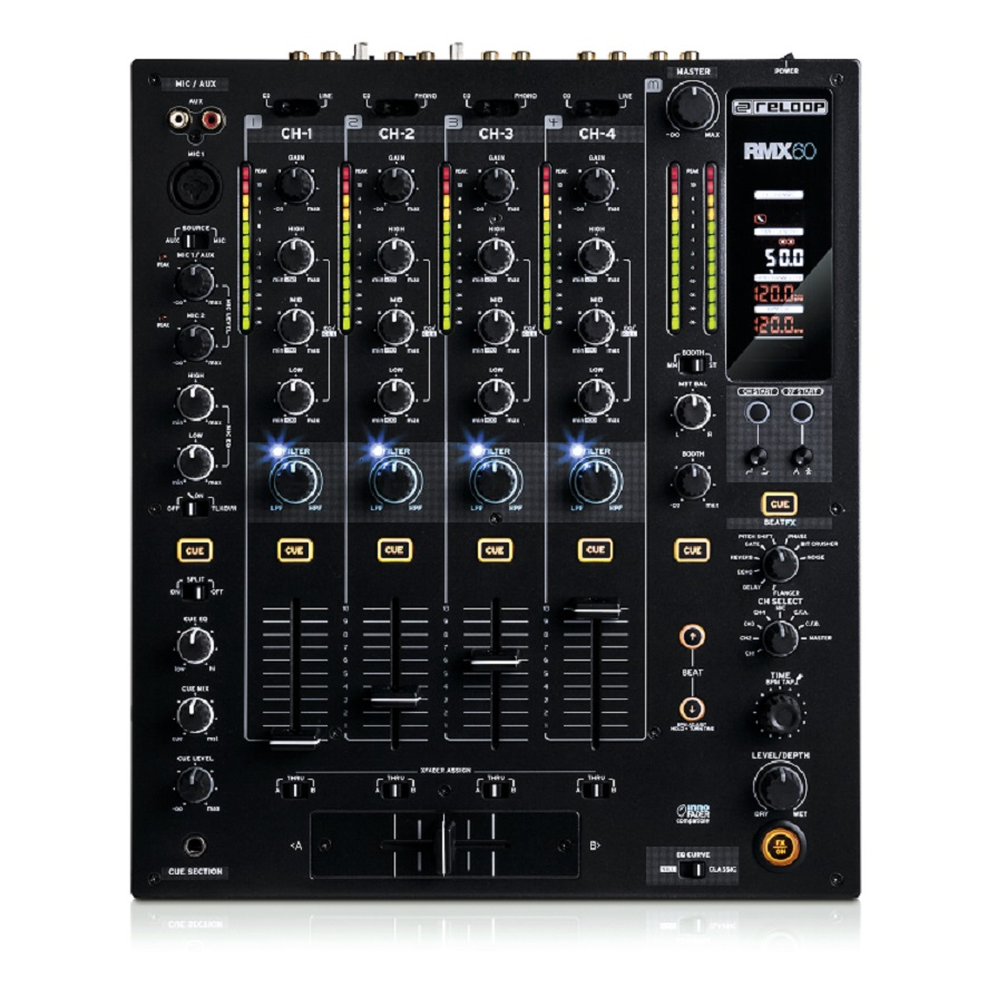 Reloop RMX-60 Digital цифровой DJ-микшер 4+1