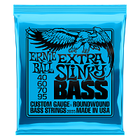 Ernie Ball 2835 струны для бас-гитары Nickel Wound Bass Extra Slinky (40-60-70-95)