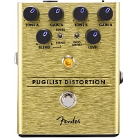 FENDER PUGILIST DISTORTION PEDAL педаль эффектов, дисторшн