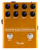 FENDER TRAPPER BASS DISTORTION педаль дисторшн для бас-гитары