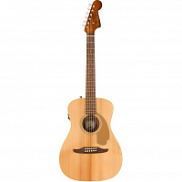 FENDER MALIBU PLAYER NATURAL WN электроакустическая гитара, цвет натуральный