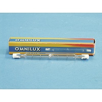 Omnilux Lamp 230V/1000W R7s 189mm pole burner  Лампа галогенная линейная 230V/1000W R7s 189mm