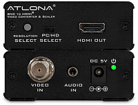 ATLONA AT-HD120 Конвертер, масштабатор композитного видео и аудио в HDMI