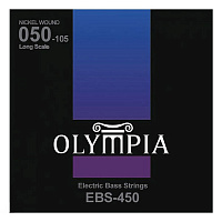 Olympia EBS450 струны для бас-гитары Nickel Wound (50-70-85-105)