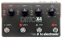 TC Electronic Ditto x4 Looper педаль лупер для гитары