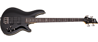 Schecter OMEN-4 BLK Гитара бас, 4 струны, корпус: липа, гриф:клён, звукосн. Schecter Diamond Bass