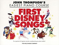 HL00416880 - THOMPSON JOHN EASIEST PIANO COURSE FIRST DISNEY SONGS EASY PF BK