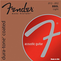FENDER Dura-Tone 880L 80/20 Coated 12-52 Комплект струн