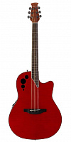 APPLAUSE AE44IIP-CHF Mid Cutaway Cherry Flame электроакустическая гитара
